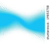 blue halftone background ... | Shutterstock .eps vector #19853758