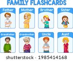 educational english word card...   Shutterstock .eps vector #1985414168