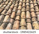 Roof Tile. Red Tile. Old...