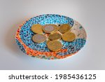 Euro Coins Change In A...