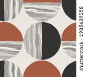 trendy minimalist seamless...   Shutterstock .eps vector #1985639258