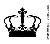 crown icons | Shutterstock .eps vector #198573308
