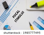 Financial Concept About Fiscal...