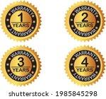 warranty label illustration ... | Shutterstock .eps vector #1985845298