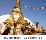 Swayambhunath Pagoda Or...