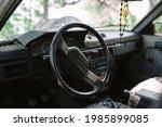 Steering Wheel In The Cockpit...