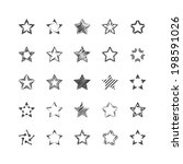 star shapes | Shutterstock .eps vector #198591026