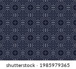navy pen texture. old cloth... | Shutterstock . vector #1985979365