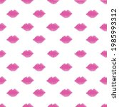 Line Zigzag And Colorful Pink...