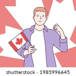 canada independence day... | Shutterstock .eps vector #1985996645