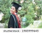 Happy Smiling College Student...