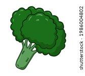 illustration of broccoli  can...   Shutterstock .eps vector #1986004802