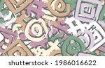 multi color seamless background.... | Shutterstock .eps vector #1986016622