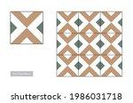 traditional floor tiles.... | Shutterstock .eps vector #1986031718