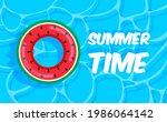 swimming pool summer background ...   Shutterstock .eps vector #1986064142