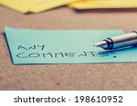close up of the nib of a... | Shutterstock . vector #198610952