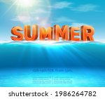 summer background with big...   Shutterstock .eps vector #1986264782