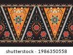 ethnic flower background....   Shutterstock .eps vector #1986350558