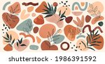 bundle of vector boho various...   Shutterstock .eps vector #1986391592