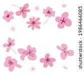 flower graphic design.... | Shutterstock .eps vector #1986466085