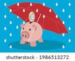 savings insurance. protected...   Shutterstock .eps vector #1986513272