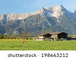 The Scenery Of The Austrian...