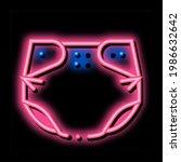 childhood nappy neon light sign ...   Shutterstock .eps vector #1986632642