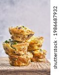 Vegetarian Egg Muffins With...