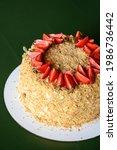 Napoleon Cake With Fresh...