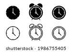 time icon set  clock icon for...