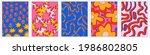 vintage vector interior posters ... | Shutterstock .eps vector #1986802805