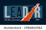 leader the new generation ... | Shutterstock .eps vector #1986863582