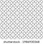 flower geometric pattern....   Shutterstock .eps vector #1986930368