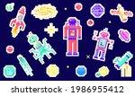 set of space stars  alien...   Shutterstock .eps vector #1986955412