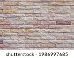 Brick Wall With Red Brick  Red...