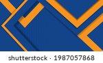 minimal geometric background... | Shutterstock .eps vector #1987057868