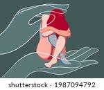 vector illustration on the...   Shutterstock .eps vector #1987094792