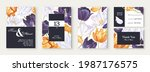 botanical wedding invitation...   Shutterstock .eps vector #1987176575