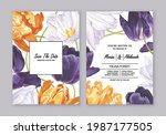 greeting cards templates ...   Shutterstock .eps vector #1987177505
