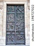 paris  france march 28  saint... | Shutterstock . vector #198727022