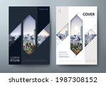 annual report brochure flyer... | Shutterstock .eps vector #1987308152
