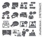 communication icons set on...   Shutterstock .eps vector #1987336625