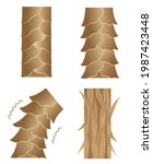 healthy and damaged hair... | Shutterstock .eps vector #1987423448