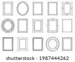 illustration set of hand drawn... | Shutterstock .eps vector #1987444262