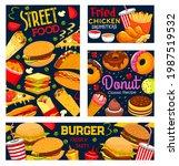 street food  takeaway meals... | Shutterstock .eps vector #1987519532
