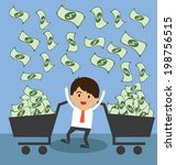 successful young businessman | Shutterstock .eps vector #198756515