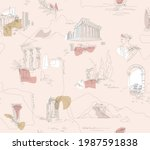 ancient greece  tradition and... | Shutterstock .eps vector #1987591838