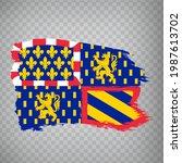flag of burgundy free county...