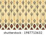 oriental ethnic seamless...   Shutterstock .eps vector #1987713632