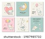 Cute Little Elephant  Kids Card ...